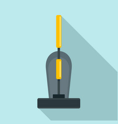 old hand vacuum cleaner icon flat style vector image
