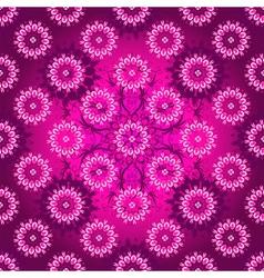 Seamless purple pattern vector image
