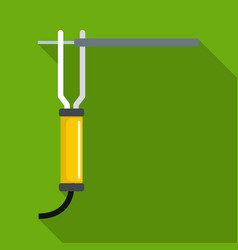 Wrench equipment icon flat style vector