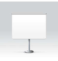Blank Stand vector image vector image