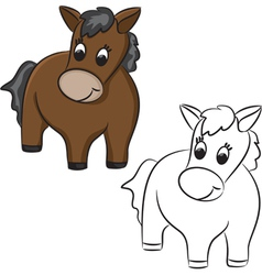 Horse Toy vector image vector image