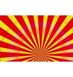 Sunburst Pattern Radial background Comic book vector image