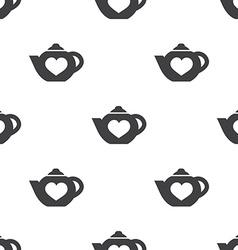 teapot seamless pattern vector image