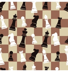 chess background vector image