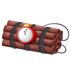 An explosive bomb vector image