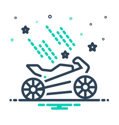 Bike spa vector