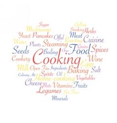 Cooking food industry vector