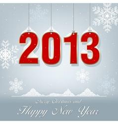 New Year Greetings 2013 vector