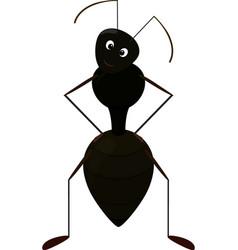 cute ant cartoon character vector image