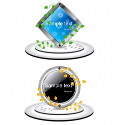 copy space icons vector image vector image