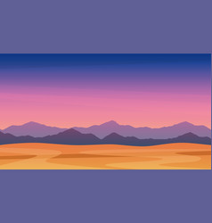 beautiful landscape twilight mountains free vector image