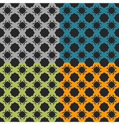 Bright pattern number 2 vector image