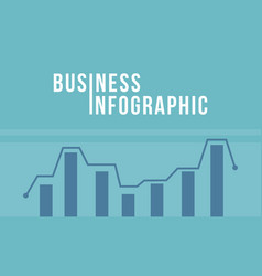 Business infographic diagram style vector