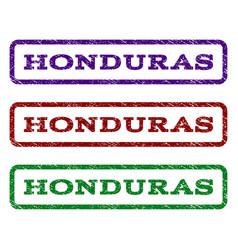 Honduras watermark stamp vector