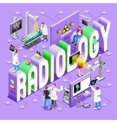 Radiology 01 Concept Isometric vector