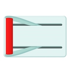 Metal lever of inclusion icon cartoon style vector image