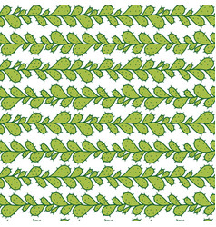 seamless pattern with prickly pear cactus vector image vector image