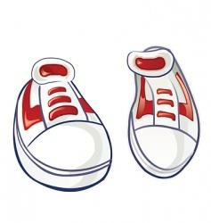 sneakers 2 vector image