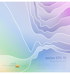 abstract pastel background vector image