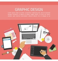Banners for graphic design vector image