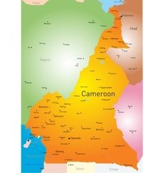 Cameroon vector image