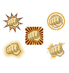 Fist fury vector