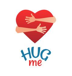 Hug day vector