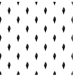ice cream pattern seamless vector image