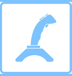 joystick icon vector image