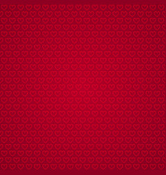 red heart shaped background vector image
