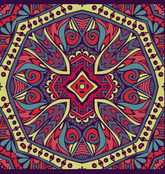 tribal indian ethnic seamless design festive vector image