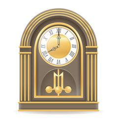 clock old retro icon stock vector image vector image