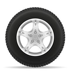 Car wheel 02 vector