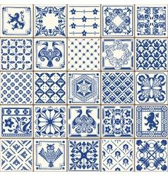 Traditional Ceramic 05 Vintage 2D vector image