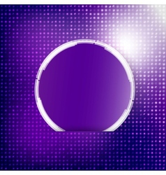 Abstract background Circle blue vector