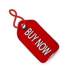 buy now sales tag icon vector image
