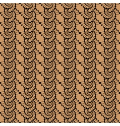 Design seamless vertical wattled pattern vector