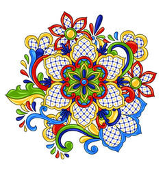 Mexican traditional decorative object vector