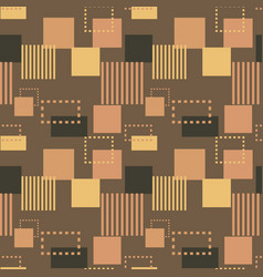 Structure collapse seamless pattern vector