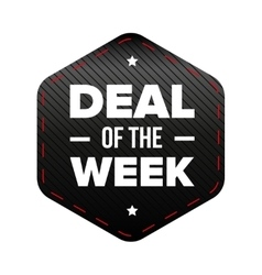 Deal of the Week vector image