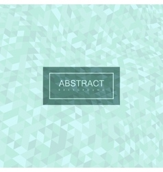 Abstract polygonal distorted background with vector
