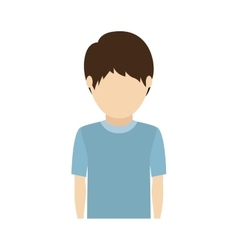 Avatar male kid vector