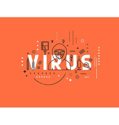 Design concept epidemic of virus vector