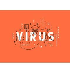 Design concept epidemic virus vector