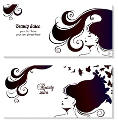Fashion Banner for Make Up Cosmetic Shopping vector