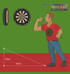 Set darts items and elements in vector