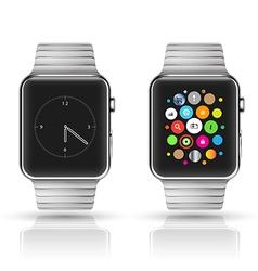 Smart watch mockup vector