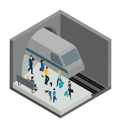 Underground People vector