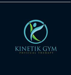 Yoga care logo designs vector