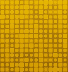 Square Golden Brown Seamless Geometric Pattern vector image